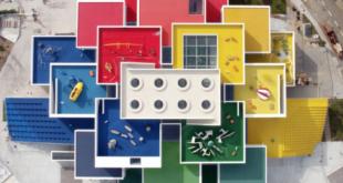 Wer möchte im Lego-Haus schlafen?