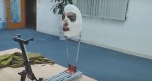 Wie eine Maske das iPhone X austricksen kann