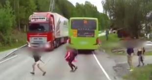 Ein Schock-Video aus Norwegen lässt den Atem stocken!
