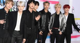 Südkoreanische Boyband rockt die American Music Awards