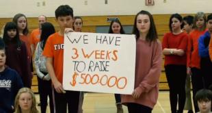 Sechstklässler sammeln Geld für ihre kranke Mitschülerin Talia