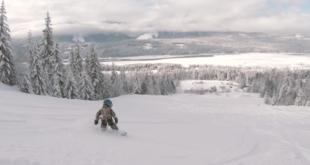 Vierjähriger Snowboarder begeistert die Welt
