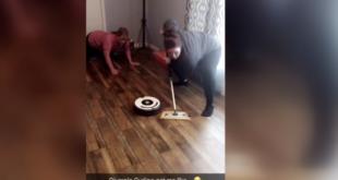 Amerikanische Familien sind im Curling-Fieber