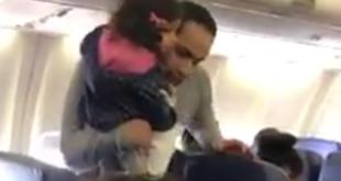 Nur weil die Tochter Flugangst hat, muss eine Familie von Bord gehen