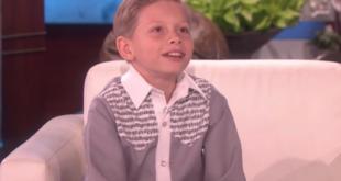 Mason Ramsey schafft es zu Ellen auf die Couch