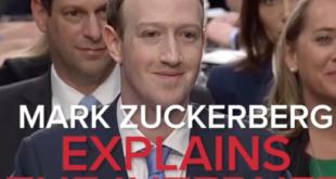 Mark Zuckerberg muss alten Menschen das Internet erklären